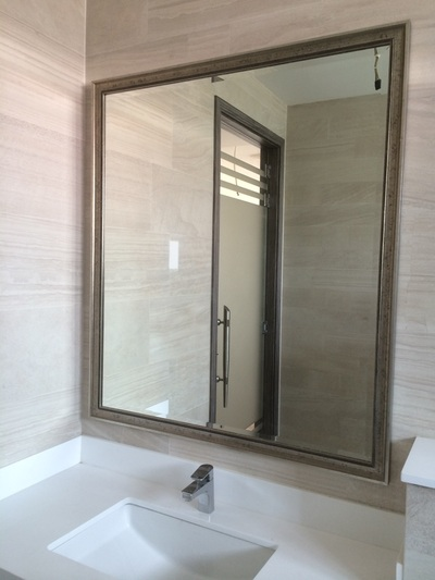 Mirror And Mirrors Maker In Singapore And Bathroom Mirror Framer